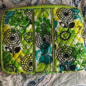 Vera Bradley Laptop Sleeve in Limes Up